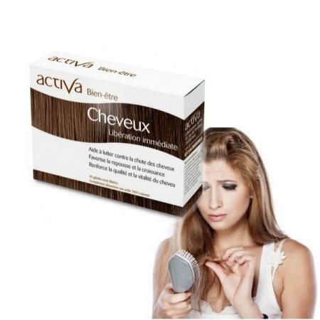 CHEVEUX Bien-Être ACTIVA Laboratoires - Aide à lutter contre la chute des cheveux