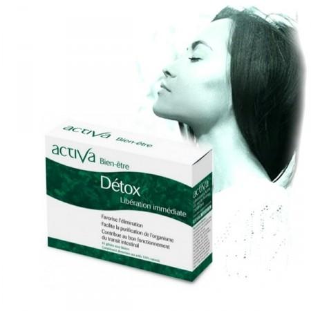 DETOX Bien-Être ACTIVA - facilite la purification de l'organisme