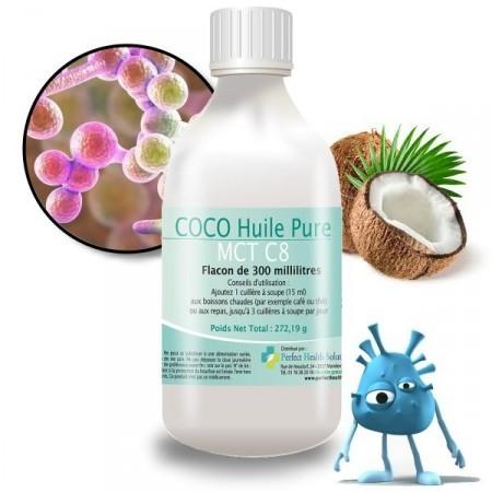 HUILE DE COCO Candidose Chronique - perfect health solutions