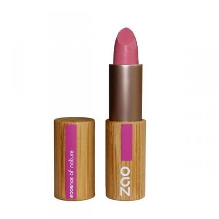 ZAO Rouge à lèvres mat 461 Rose bonbon