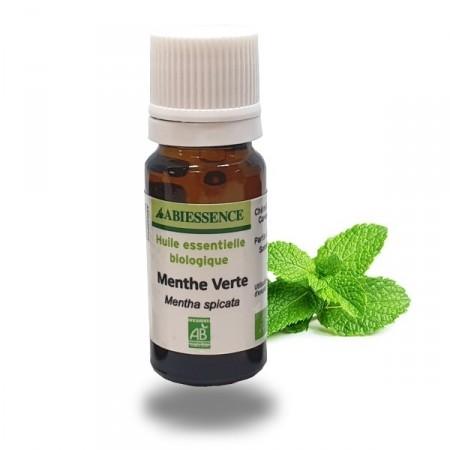 MENTHE VERTE - 5 ou 10 ML - Huile essentielle bio - Abiessence