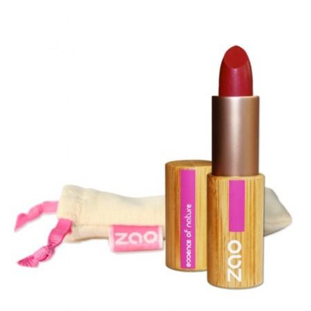 ZAO Rouge à lèvres mat 463 Rose rouge