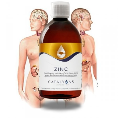ZINC - 500 ml ongles cheveux Catalyons