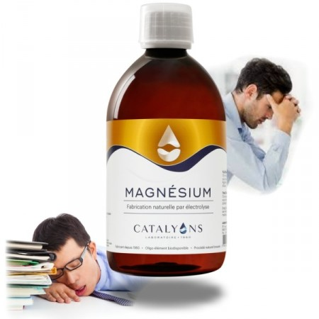 MAGNÉSIUM - 500ml - Os, dents, foie - Catalyons