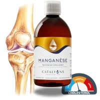 MANGANÈSE 500ml - Ossature et cholesterol - Catalyons