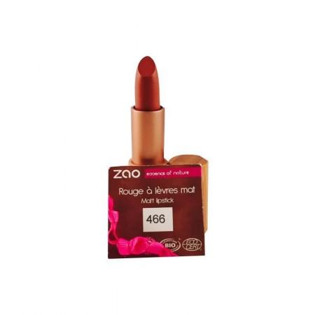 ZAO Rouge 466 à lèvres mat chocolat