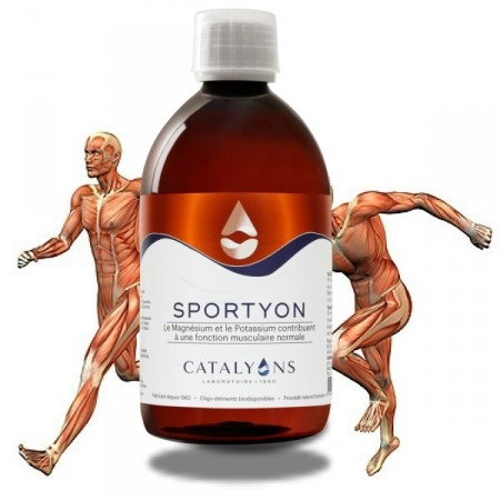 SPORTYON - 500ml - Soutien au sportifs - Catalyons
