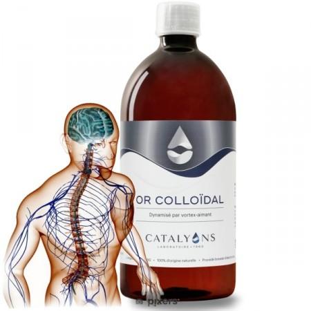 OR COLLOÏDAL - 1L Système nerveux et circulatoire - Catalyons