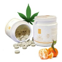 Pot Pastilles Mandarine 150 - 1% CBD BioActif