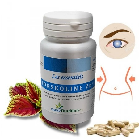 FORSKOLINE et ZINC - minceur, glaucome et Libido EasyNutrition