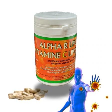 ALPHA-R-Lipoïque Vitamine C liposomale - Jade Recherche
