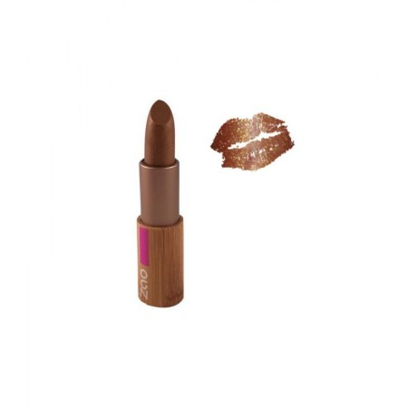 ZAO Rouge 405 à lèvres brun doré