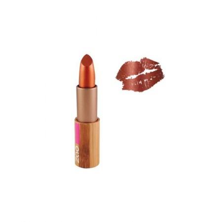 ZAO Rouge 407 à lèvres nacré cuivre