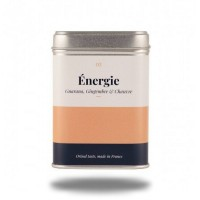 INFUSION ÉNERGIE - Energie - Guarana, Gingembre et Chanvre - High Society