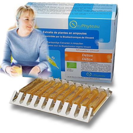 DETOX - OxyPhyteau - En Cure minceur - Boîte de 40 amp.