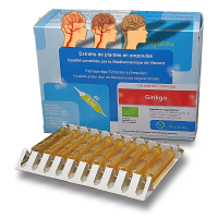 GINKGO- OxyPhyteau - Microcirculation sanguine - Boîte de 40 amp