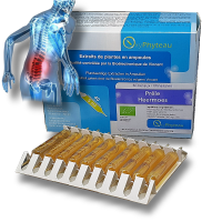 PRÊLE Bio - OxyPhyteau - Peau, oedèmes, ongles - Boîte de 40 amp.