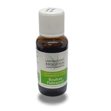 BOULEAU Pubescent purifie le système hépatique et stimule l'organisme Biogemm
