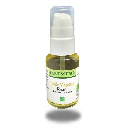 RICIN HUILE- 50 ml barbe, cheveux et peau - huile végétale bio - Abiessence