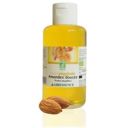 AMANDES DOUCES - 100ml huile végétale bio - Abiessence