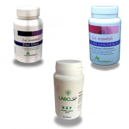 PACK SBC - système nerveux - stress oxydatif - Labosp