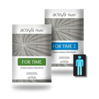 FOR TIME 1 et 2 Pack Nutri - Homme - Activa