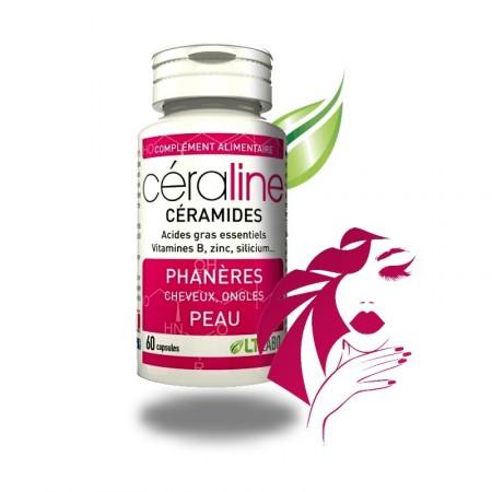 CÉRALINE - Cheveux Ongles Phanères - 60 capsules - LTLABO