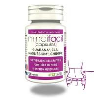 MINCIFACIL - 120 capsules- Minceur - musculation - LTLABO