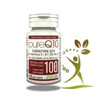 PURE Q10 - 30 Capsules - équilibre et de vitalité. LT labo