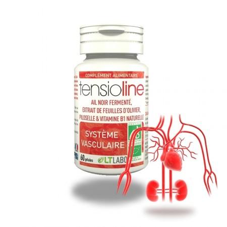 TENSIOLINE 60 gélules - hypertension artérielle - LT labo
