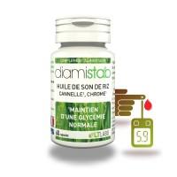 DIAMISTAB 60 - contrôle de glycémie - capsules LT labo