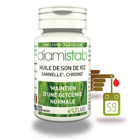 DIAMISTAB 120 - contrôle de glycémie - capsules LT labo