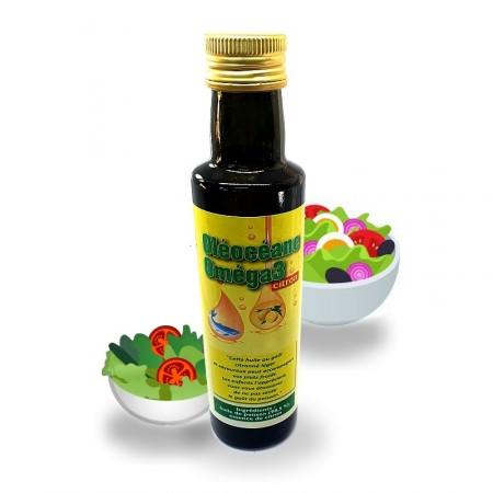OLEOCEANE - Oméga 3 - Huile de nutrition et cuisine - Jade Recherche