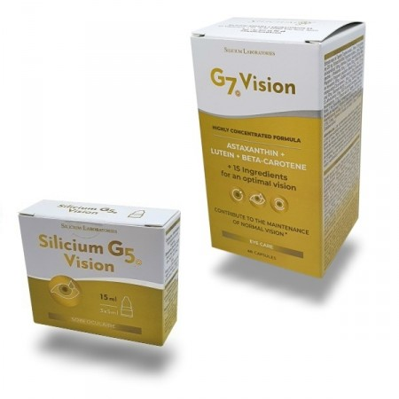 Pack Vision SILICIUM G5 - G7 VISION Soins oculaires