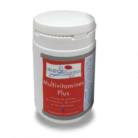 MULTIVITAMINES PLUS - 100g et dosette Valencie Nutrition