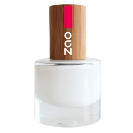 ZAO Blanc French 641 VERNIS A ONGLES NATUREL