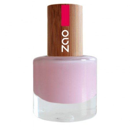ZAO Rose French 643 VERNIS A ONGLES NATUREL