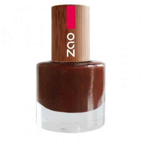 ZAO Cacao 645 VERNIS A ONGLES NATUREL
