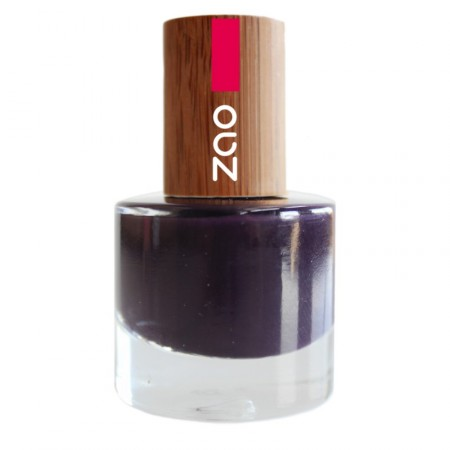 ZAO Prune 651 VERNIS A ONGLES NATUREL