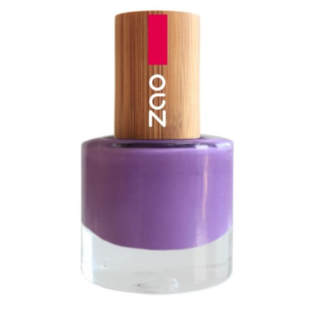 ZAO Lilas 652 VERNIS A ONGLES NATUREL