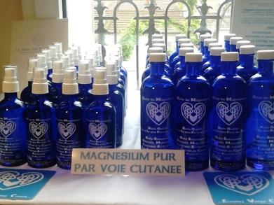 huile sèche de magnésium