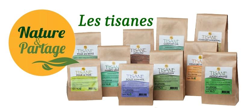 nature et partage tisanes