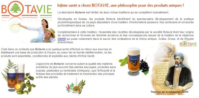 Infinie santé a choisi BOTAVIE, une philosophie pour des produits uniques !