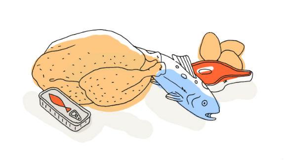 viande poissons