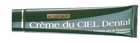 dentifrice H2SNC au charismon , crème du ciel