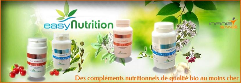 eas nutrition Des compléments nutritionnels de qualité bio au moins cher