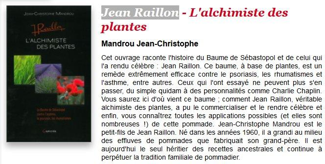 le livre de JCmandrou - jean raillon