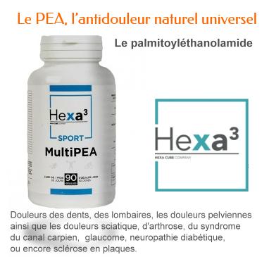 pea Le palmitoyléthanolamide